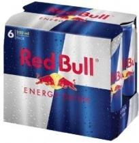 Energético Red Bull - Pack Com 6 Unidades -