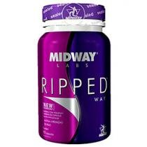 Energético Ripped Way 90 Cápsulas - Midway Labs