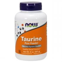 Energéticos TAURINE POWDER - Now Sports - 227grs - Now Sports