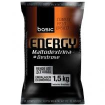 Energy Maltodextrina 1,5Kg Limão - Basic Nutrition