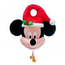 Enfeite Árvore De Natal Fechadura Mickey 1 Pç Vermelha - Cromus