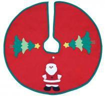 Enfeite de natal saia de árvore decorada 90 cm - Yangzi