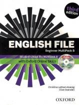 English file beginner multipack b with itutor and online skills and dvd - 3rd ed - Oxford university