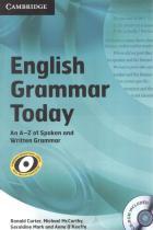 English grammar today with cd-rom - Cambridge university