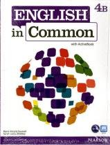 English in common 4b split sb with activebook and wb and mylab - 1st ed - Pearson (importado)