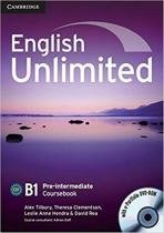 English unlimited pre-intermediate cb with dvd-rom - 1st ed - Cambridge university