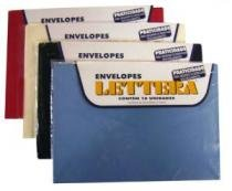 Envelope Convite 162x230mm Salmao 10 Unidades Lettera - 952815