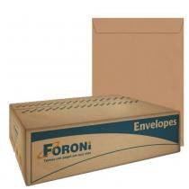 Envelope Saco Kraft Natural 229x324mm 250 Unidades Foroni -