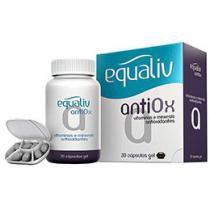 Equaliv AntiOx Vitaminas e Minerais Antioxidantes - 30 cápsulas-gel