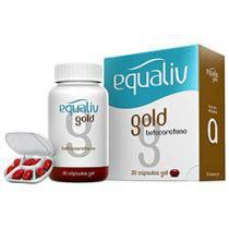 Equaliv Gold Betacaroteno - 30 cápsulas-gel