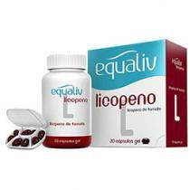 Equaliv Licopeno de Tomate - 30 cápsulas-gel