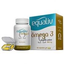 Equaliv Ômega 3 - Óleo de Peixe - 60 cápsulas