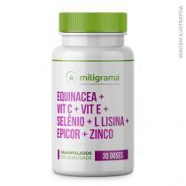 Equinacea + Vit C + Vit E + Selênio + L Lisina + Epicor + Zinco - Miligrama