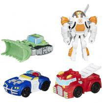 Equipe de Resgate de Griffin Rock  - Transformers Rescue Bots Playskool Heroes Hasbro