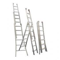 Escada 3 Lances - 10 Degraus - Alulev