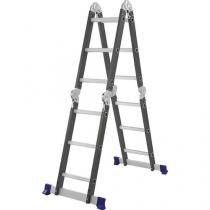 Escada Multifuncional 4x3 - Mor - 5135 (Aço) - Mor