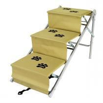 Escada Para Cães E Gatos Tubline One Bege -