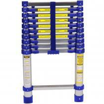 Escada Telescópica Alumínio 10 Degraus 3,12 Metros 5121 - Mor - Mor