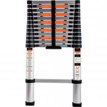 Escada Telescópica Alumínio 3,8 Metros 12 Degraus 213800 - Belfix - Belfix