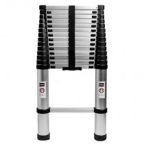 Escada telescópica de alumínio - 4,40mt - Bonrgo