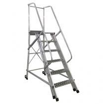 Escada Trepadeira 12 Degraus + Plataforma com Corrimão 7 Degraus + Plataforma com Corrimão - Allfort