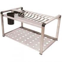 Escorredor para pratos em aço inoxidável linha Elegance. - Soltecn