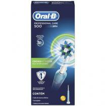Escova de Dente Elétrica Oral-B - Professional Care 500 Cross Action