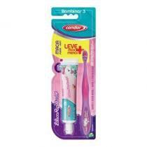 Escova de Dentes Condor Jr LilicaRipilica + Gel Dental -