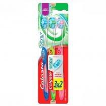 Escova Dental Colgate Twister Macia Leve 3 Pague 2 -