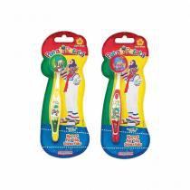 Escova Dental Infantil Com Capa Patati 12 unidades - Frescor -