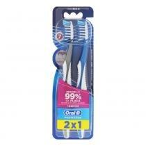 Escova Dental Oral-B Pró-Saúde 40 Macia 7 Beneficíos Leve 2 Unidades Pague 1 Unidade - Hiperbeleza