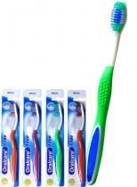 Escova dental oralcare edge macia com 12 - 3w