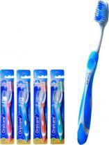 Escova dental oralcare plus macia com 12 - 3w