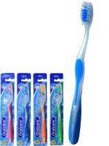 Escova dental oralcare ultragrip macia com 12 - 3w