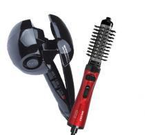 Escova Rotativa  + Modelador de Cachos - Importado