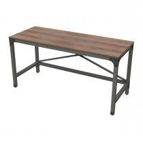 Escrivaninha 150cm Steel 14011 Artesano -