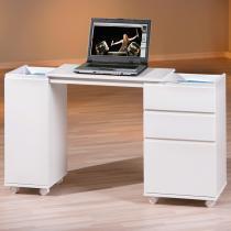 Escrivaninha 5 Gavetas Laptop Office Inter Link Branco -