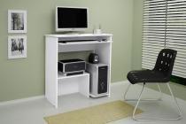 Escrivaninha/Mesa de computador com design compacto Íris Branco JCM Movelaria -