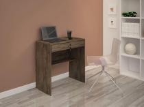 Escrivaninha/Mesa de notebook com design compacto Andorinha Cacau JCM Movelaria -