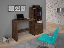 Escrivaninha/Mesa de notebook com prateleiras Alana Cacau JCM Movelaria -
