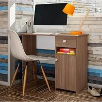Escrivaninha/Mesa para Computador 1 Porta 1 Gaveta - Art In Móveis MC7007 MT