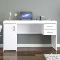 Escrivaninha/Mesa para Computador 1 Porta - 2 Gavetas - Politorno Miranda