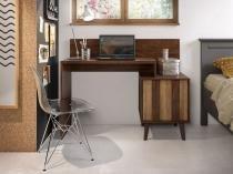 Escrivaninha/Mesa para Computador 1 Porta - Líder Design Premium Style
