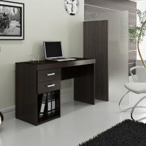 Escrivaninha/Mesa para Computador 2 Gavetas - Politorno Malta 117104 TABACO