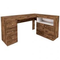 Escrivaninha/Mesa para Computador 2 Portas - 3 Gavetas Líder Evolution