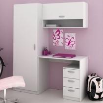 Escrivaninha/Mesa para Computador 2 Portas - 3 Gavetas Madesa Eureka