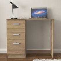 Escrivaninha/Mesa para Computador 3 Gavetas - Politorno Palma