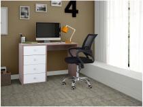 Escrivaninha/Mesa para Computador 4 Gavetas - BRV Móveis BC 61-06