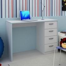 Escrivaninha/Mesa para Computador 4 Gavetas - Madesa Alice 6903