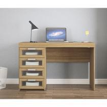 Escrivaninha/Mesa para Computador 4 Gavetas Politorno Malta